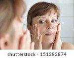 woman of middle age in the... | Shutterstock . vector #151282874