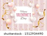 valentine's day love and...   Shutterstock .eps vector #1512934490