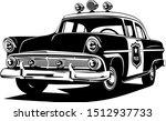 classic vintage retro police... | Shutterstock .eps vector #1512937733