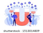 generating new leads... | Shutterstock .eps vector #1513014809