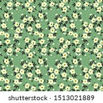 vector seamless pattern. pretty ... | Shutterstock .eps vector #1513021889