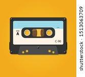 vector illustration of cassette ...   Shutterstock .eps vector #1513063709