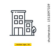 building icon vector logo...