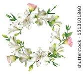 white flowers. floral... | Shutterstock .eps vector #1513101860