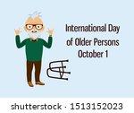 international day of older... | Shutterstock .eps vector #1513152023