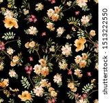 Seamless Flowers Pattern ...