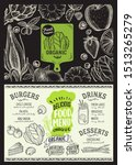 organic menu template for...   Shutterstock .eps vector #1513265279