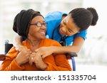happy senior patient with...   Shutterstock . vector #151335704