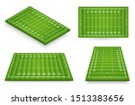 american football field vector... | Shutterstock .eps vector #1513383656