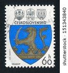 czechoslovakia   circa 1977 ... | Shutterstock . vector #151343840