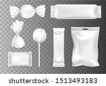 chocolate and candy packaging... | Shutterstock .eps vector #1513493183