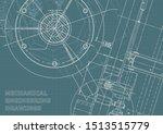 engineering. mechanical... | Shutterstock .eps vector #1513515779