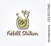 Refill Station Green And Brown...
