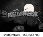 creative text of happy... | Shutterstock .eps vector #1513565783