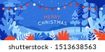 vector illustration in trendy... | Shutterstock .eps vector #1513638563