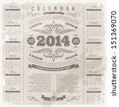 vector lettering template... | Shutterstock .eps vector #151369070
