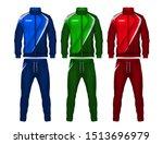 sport track suit design... | Shutterstock .eps vector #1513696979