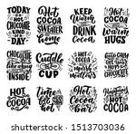 set with lettering quotes about ... | Shutterstock .eps vector #1513703036