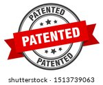 Patented Label. Patented Red...