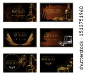 Set Of Business Card Templates...
