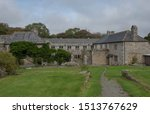 Small photo of Old Country House in the Village of Godolphin in Rural Cornwall, England, UK