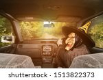 Terrible Witch On Rural Road....