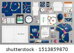 blue creative corporate... | Shutterstock .eps vector #1513859870