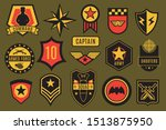 army badges. usa military... | Shutterstock . vector #1513875950