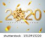 2020 happy new year vector...   Shutterstock .eps vector #1513915220