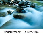The Cool Waters Of A River In...