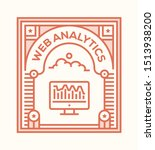 web analytics and illustration... | Shutterstock .eps vector #1513938200