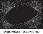 Spiderweb Isolated Black...
