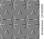 pattern with line black and... | Shutterstock .eps vector #151402850