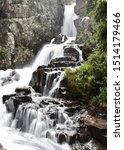 Beautiful Upper Continental Falls near Breckenridge, Colorado - stock photo