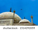 Detail Of The Dome Of The Taj...