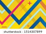 vector abstract yellow...   Shutterstock .eps vector #1514307899