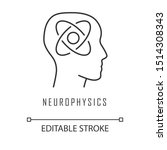neurophysics linear icon.... | Shutterstock .eps vector #1514308343