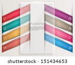 infographics design template   Shutterstock .eps vector #151434653