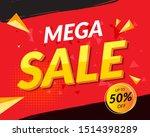 vector modern fluid for big... | Shutterstock .eps vector #1514398289