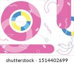 vector of design abstract... | Shutterstock .eps vector #1514402699