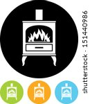 oven stove vector icon | Shutterstock .eps vector #151440986