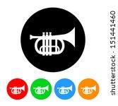 trumpet icon. vector format...   Shutterstock .eps vector #151441460