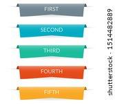 ribbon banner design.... | Shutterstock .eps vector #1514482889