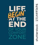 motivational quote poster... | Shutterstock .eps vector #1514495696