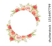 beautiful frame background with ... | Shutterstock .eps vector #1514497799