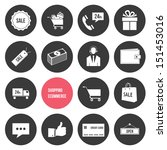 vector shopping and ecommerce...