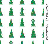 christmas seamless pattern with ...   Shutterstock .eps vector #1514603936
