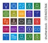 25 decent icon sheet of... | Shutterstock . vector #1514631566