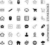 internet vector icon set such...