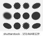 starburst speech bubbles ... | Shutterstock .eps vector #1514648129